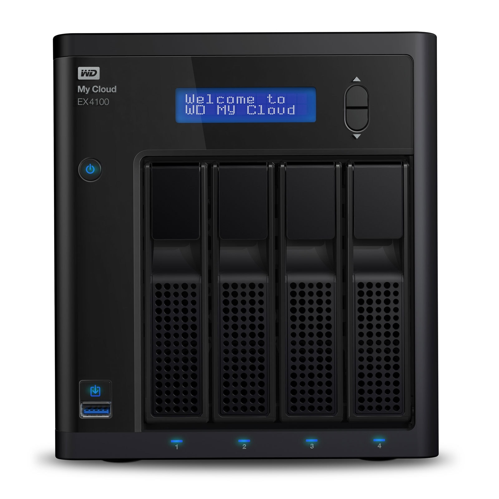 WD My cloud EX4100 sans disques - 4 HDD - Serveur NAS WD - 0