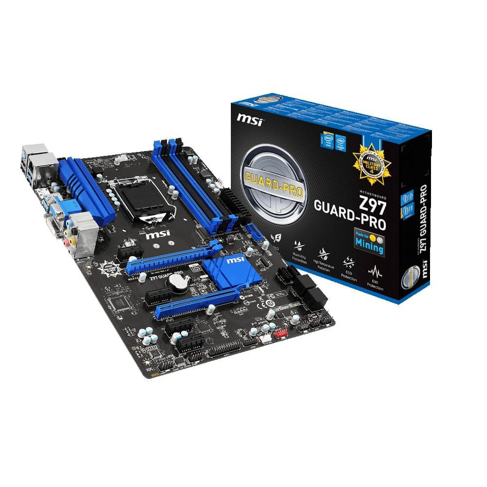 MSI Z97 GUARD PRO (Z97 GUARD-PRO) - Achat / Vente Carte mère sur Cybertek.fr - 0