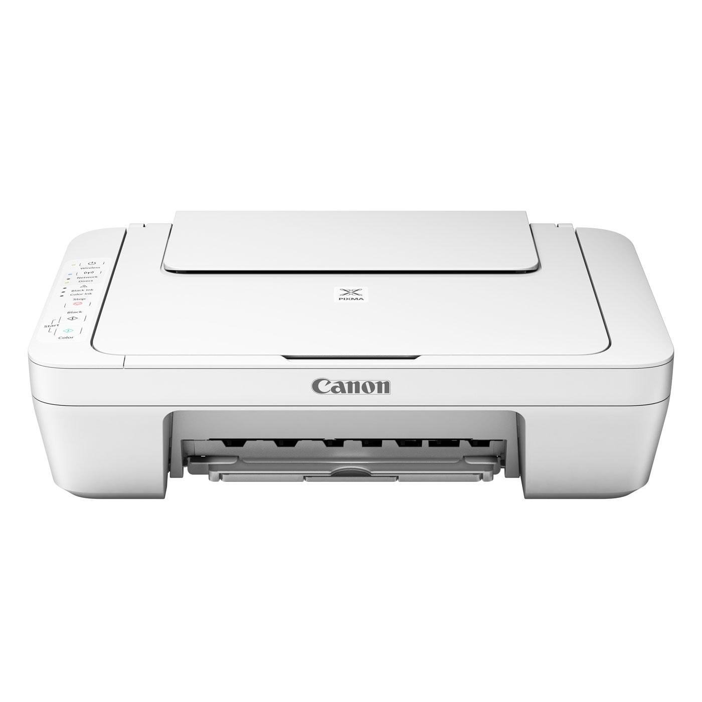 Imprimante multifonction Canon PIXMA MG3051 Blanche - Cybertek.fr - 0