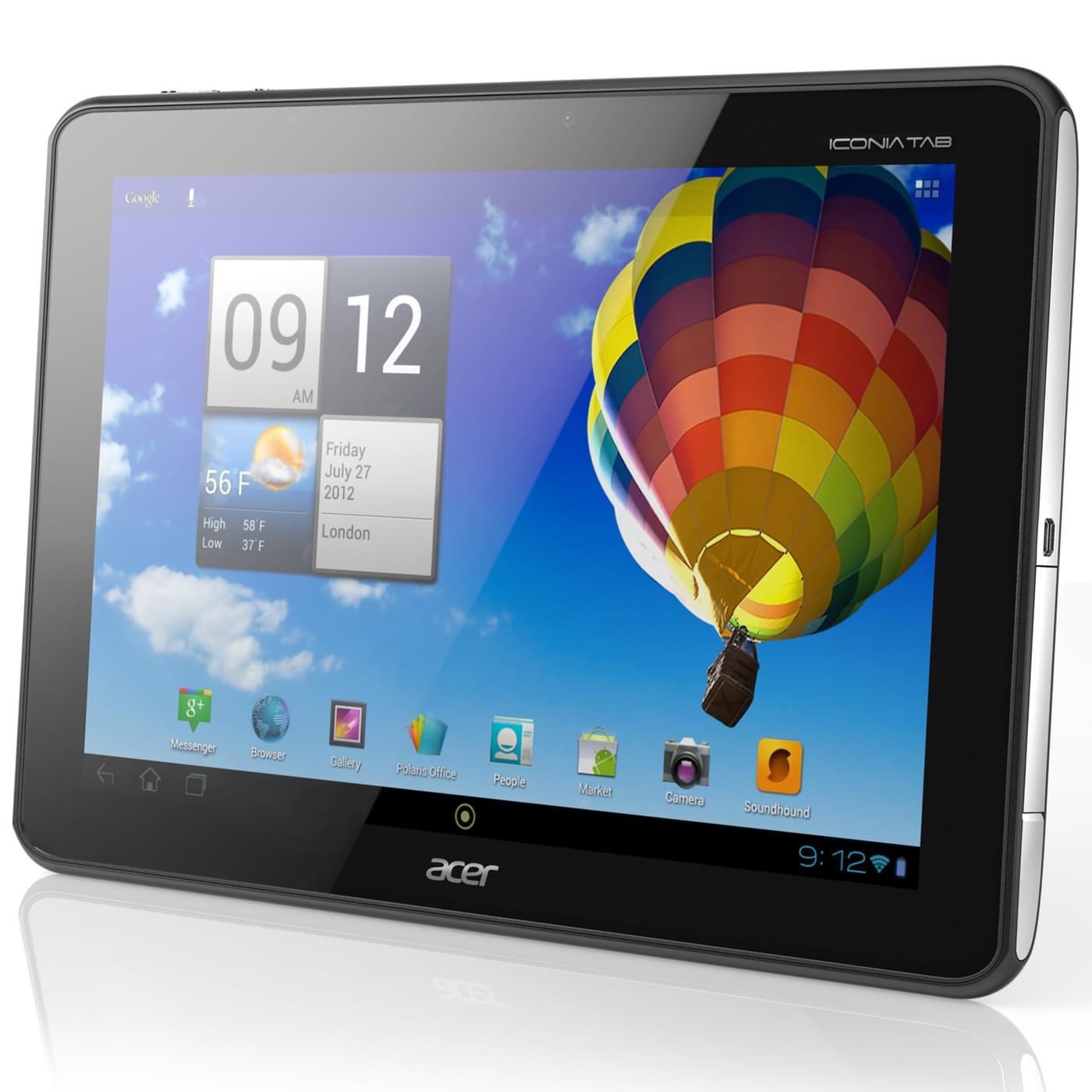 Acer A510 32Go Noir (HT.H9LEF.001) - Achat / Vente Tablette Tactile sur Cybertek.fr - 0