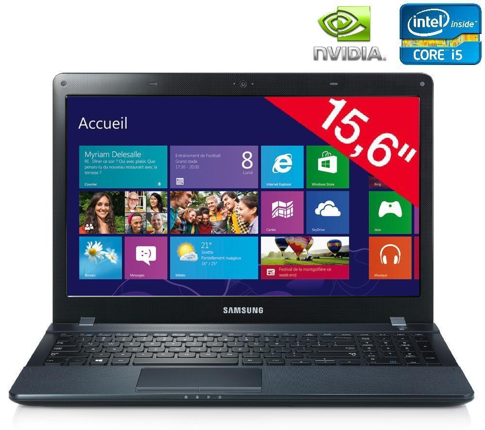 Samsung NP270E5E-X06FR (NP270E5E-X06FR) - Achat / Vente PC Portable sur Cybertek.fr - 0