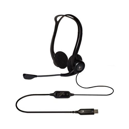 Logitech 960 USB (981-000100) - Achat / Vente Micro-casque sur Cybertek.fr - 0