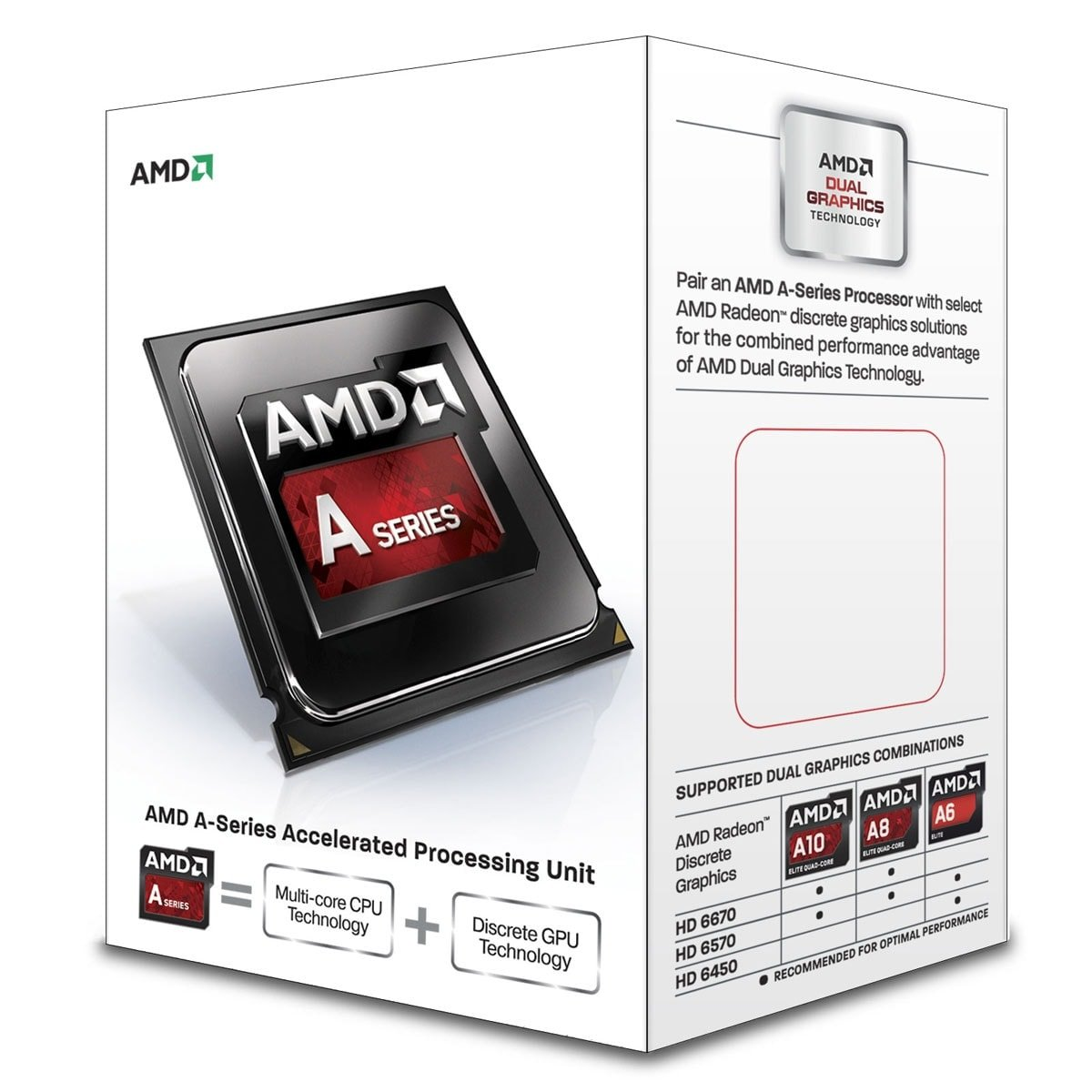 Processeur AMD A8-7600 - 3.1GHz - Gamer -  - 0