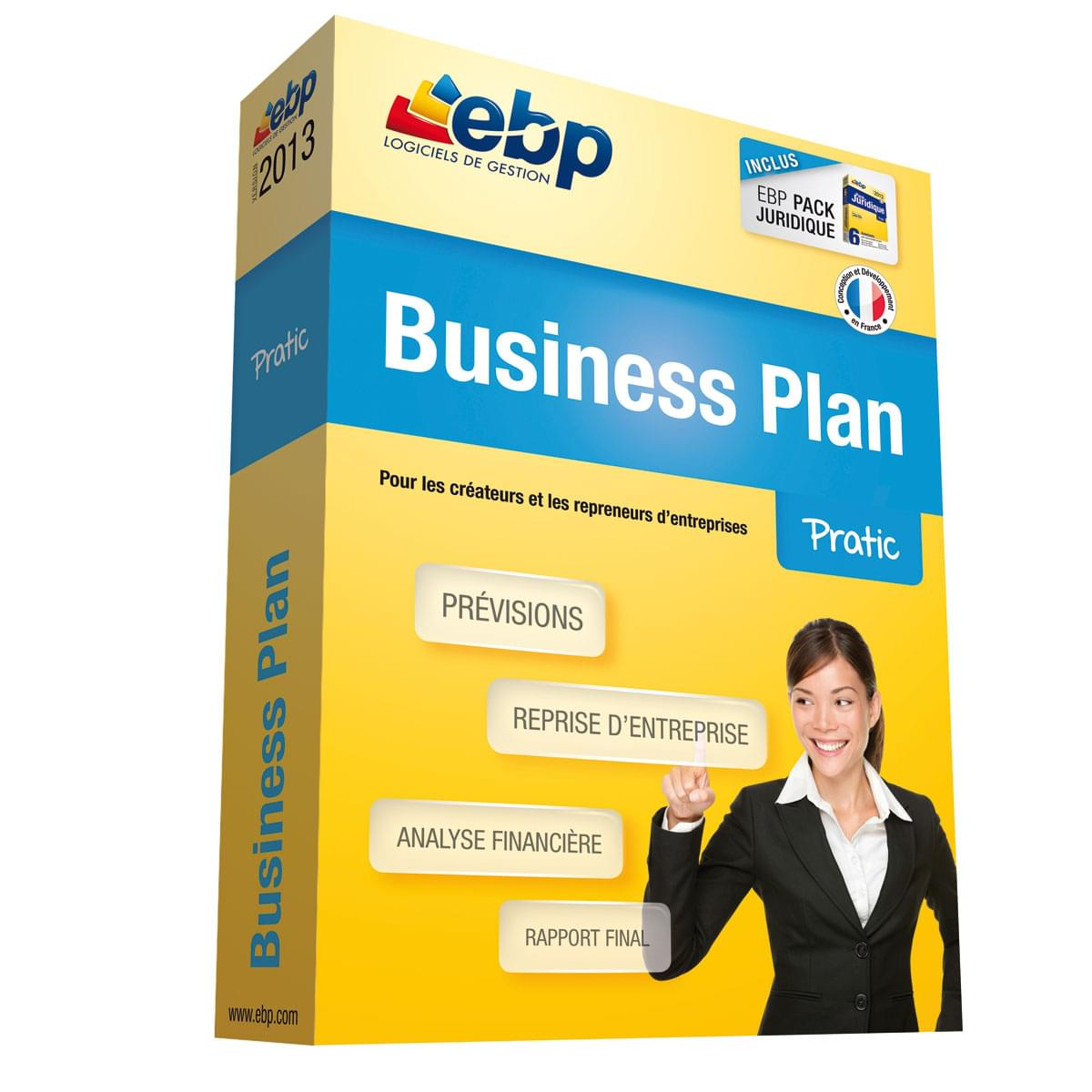 EBP Business Plan Pratic 2013 (1105E100FAA) - Achat / Vente Logiciel Application sur Cybertek.fr - 0