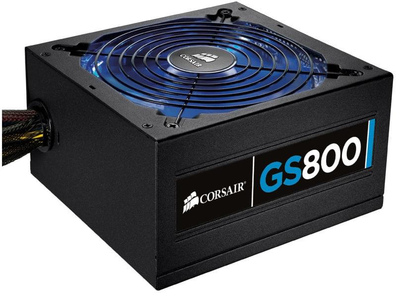 Alimentation PC Corsair ATX 800 Watts Gaming Series GS800 80+ - 0