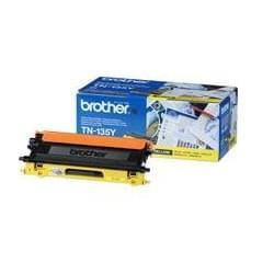 Toner TN135Y Haute capacité 4000p Jaune pour imprimante Laser Brother - 0