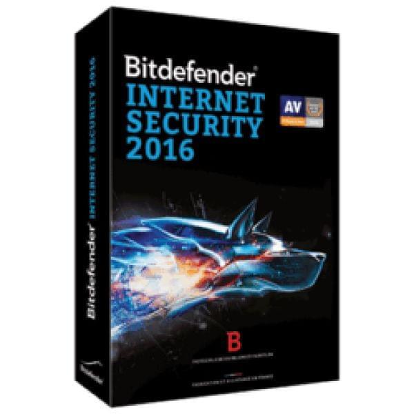 Bitdefender Internet Security 2016 (B-FBDIS-6X1P003) - Achat / Vente Logiciel sécurité sur Cybertek.fr - 0