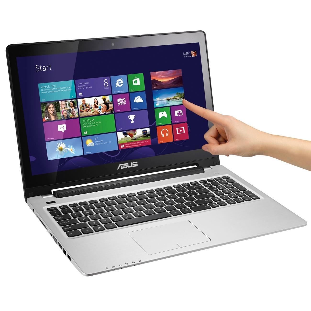 Asus S550CB-CJ028H (S550CB-CJ028H) - Achat / Vente PC Portable sur Cybertek.fr - 0