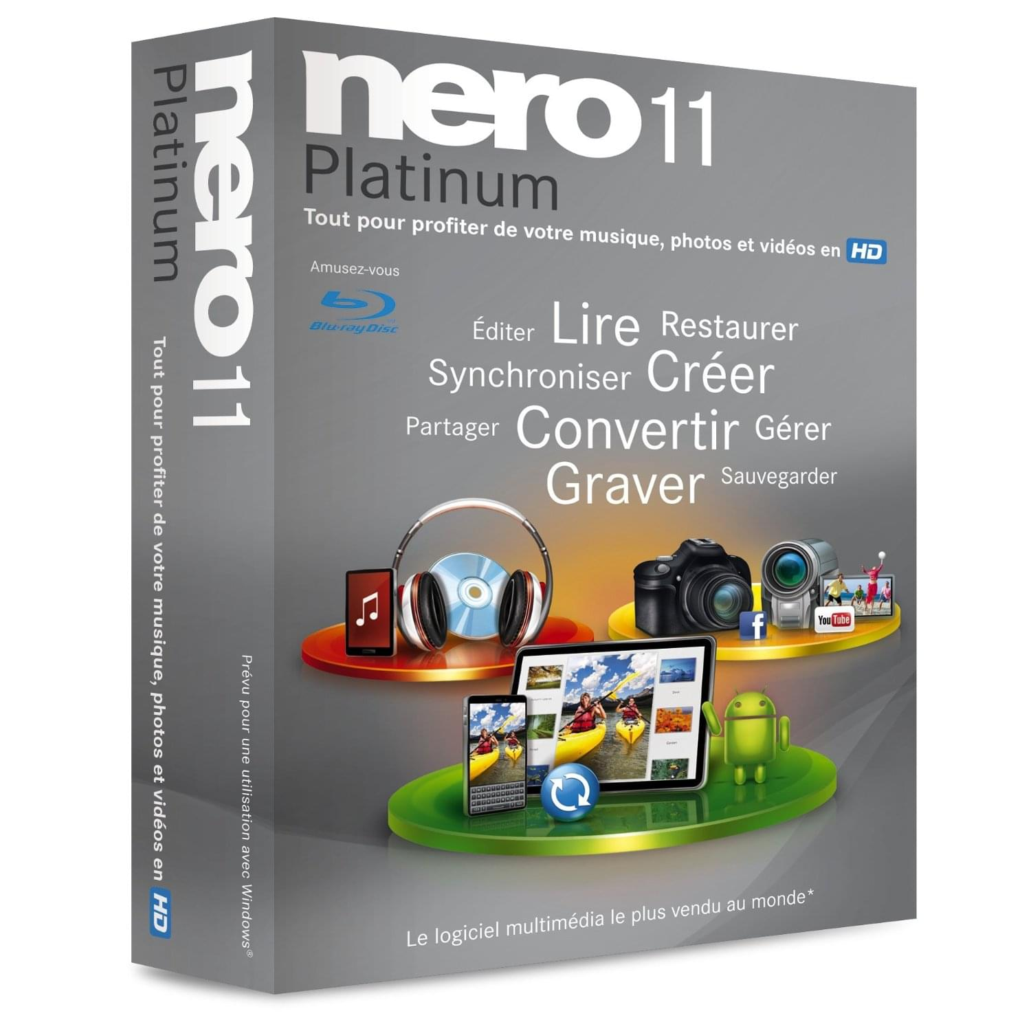Nero Nero 12 Platinum - Logiciel application - Cybertek.fr - 0