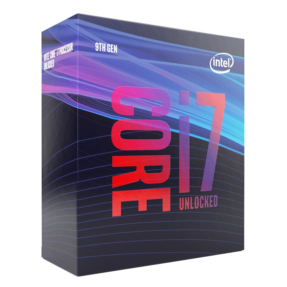 Intel Core i7-9700K - 3.6GHz - Processeur Intel - Cybertek.fr - 0