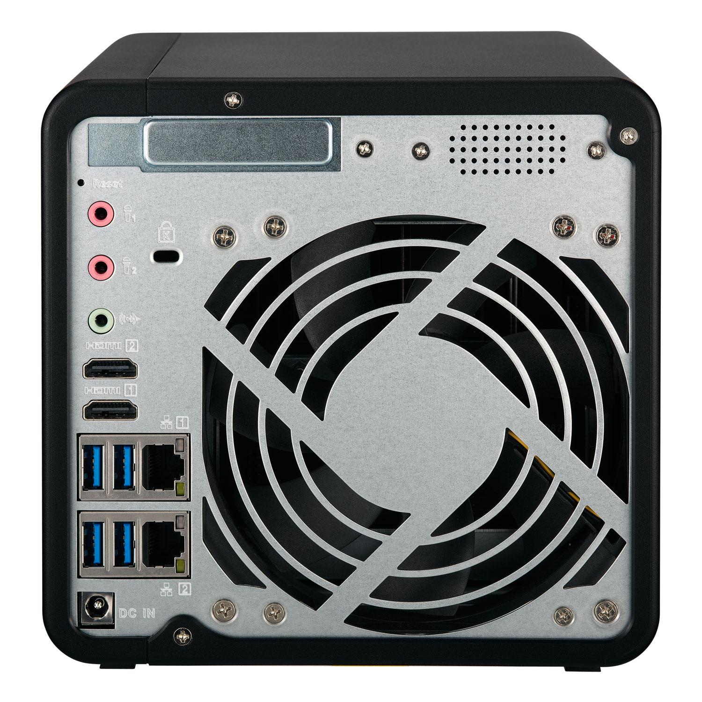 Qnap TS-453B-8G - 4 HDD - Serveur NAS Qnap - Cybertek.fr - 1