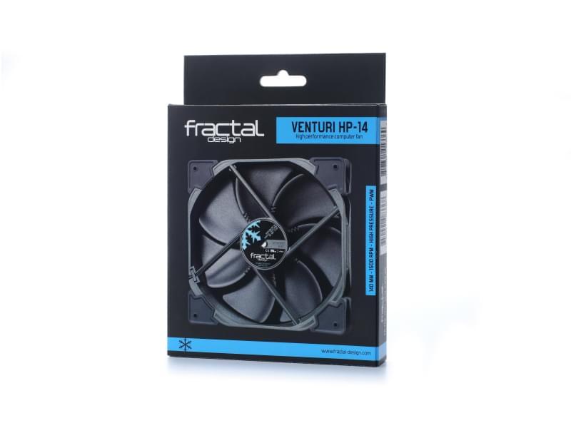 Fractal Design Venturi Series HP-14 PWM (FD-FAN-VENT-HP14-PWM-BK) - Achat / Vente Ventilateur CPU sur Cybertek.fr - 0