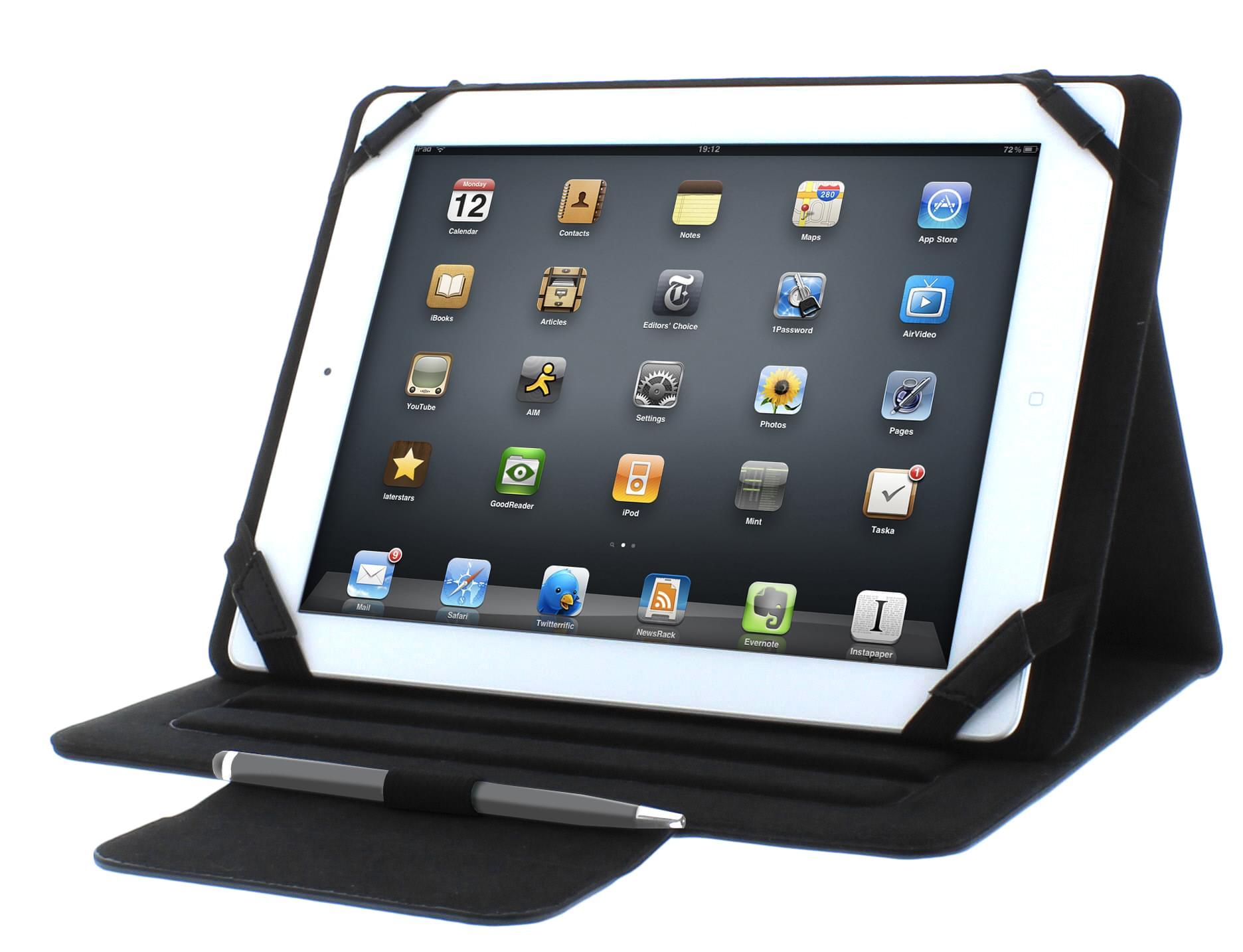 """T'nB FOLIO Universel 10"""" (UTABFOL10 soldé) - Achat / Vente Accessoire Tablette sur Cybertek.fr - 0"""