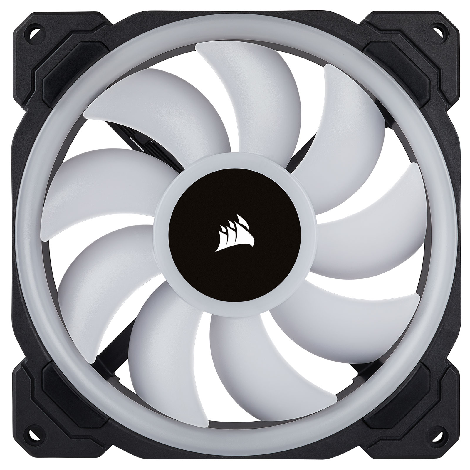Corsair LL140 Dual Light Loop RGB 140mm - Ventilateur boîtier - 2