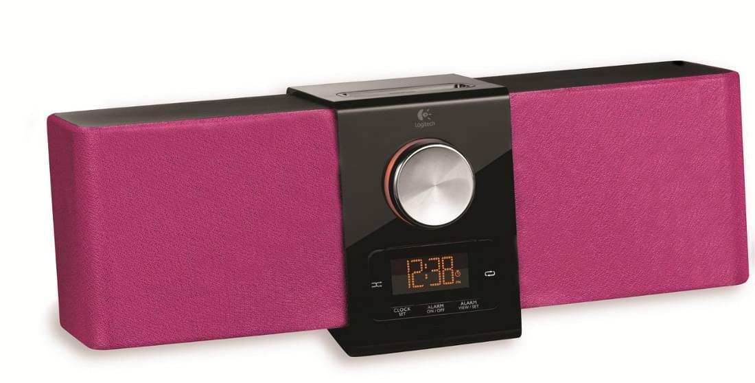 Logitech Station d'accueil iPod Pure-Fi Express Plus - Rose - Accessoire jeux - 0