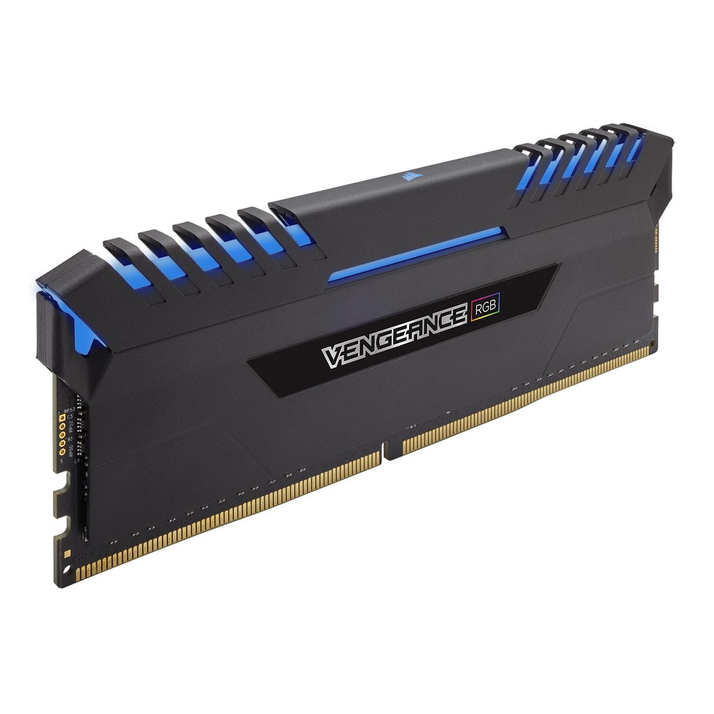 Corsair CMR16GX4M2C3000C15 RGB  16Go DDR4 3000MHz - Mémoire PC - 2