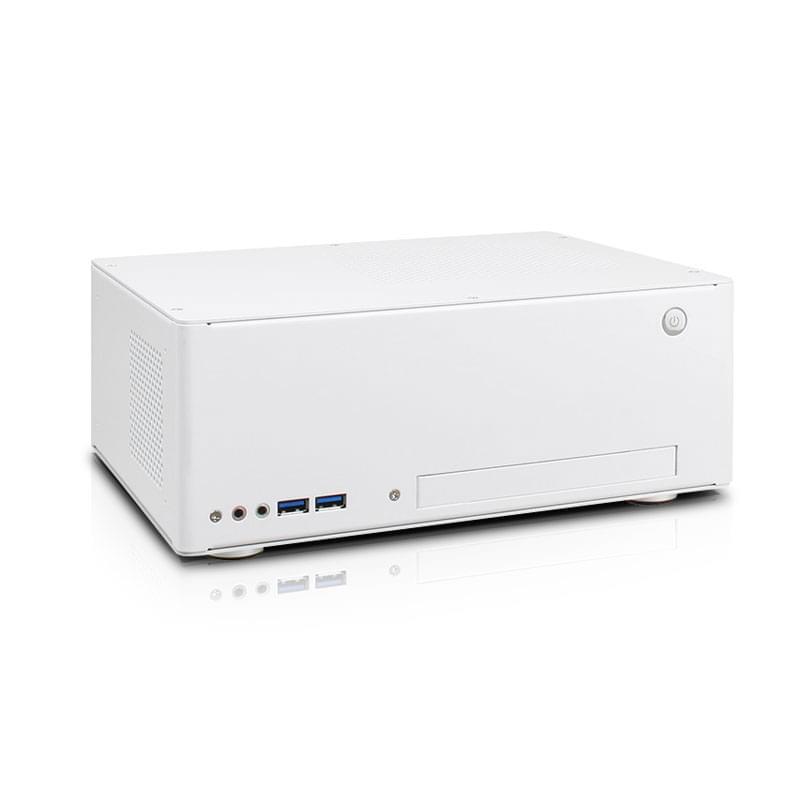 Lian-Li PC-Q09W Blanc - Boîtier PC avec Alim - 0