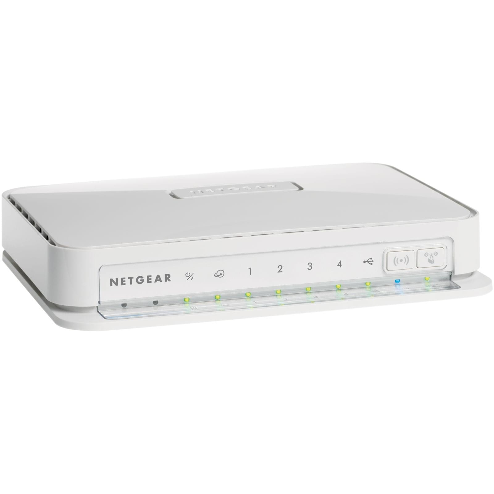 Netgear WNR2200-100 - Switch 4 ports/WiFi 300M - Routeur Netgear - 0