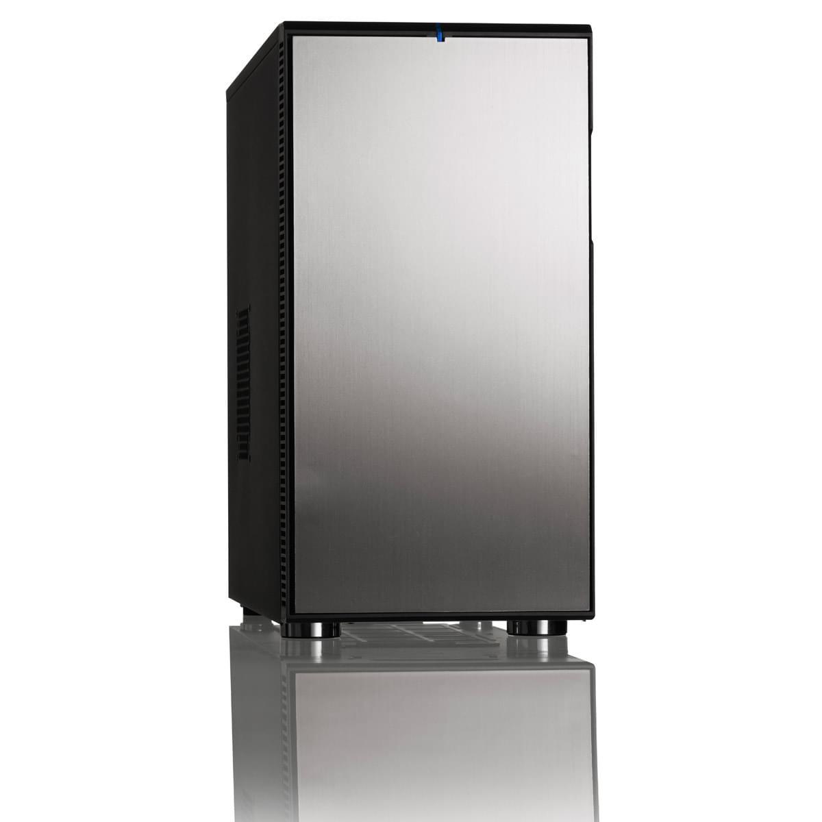 Fractal Design MT/Sans Alim/ATX Gris - Boîtier PC Fractal Design - 0