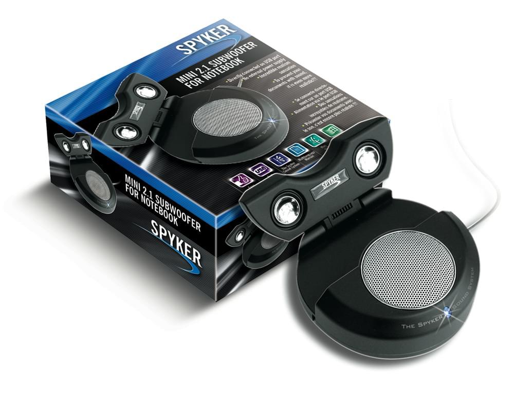 Spyker Subwoofer pour Ordi Portable (0809001 soldé) - Achat / Vente Enceinte PC sur Cybertek.fr - 0