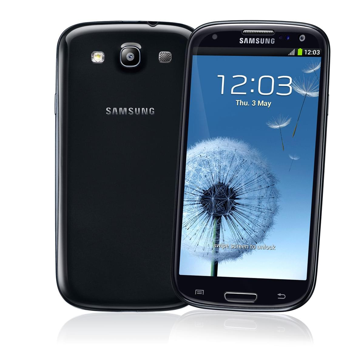 Samsung Galaxy S3 16Go Noir GT-I9300 Sapphire Black (GT-I9300BLACK) - Achat / Vente Téléphonie sur Cybertek.fr - 0