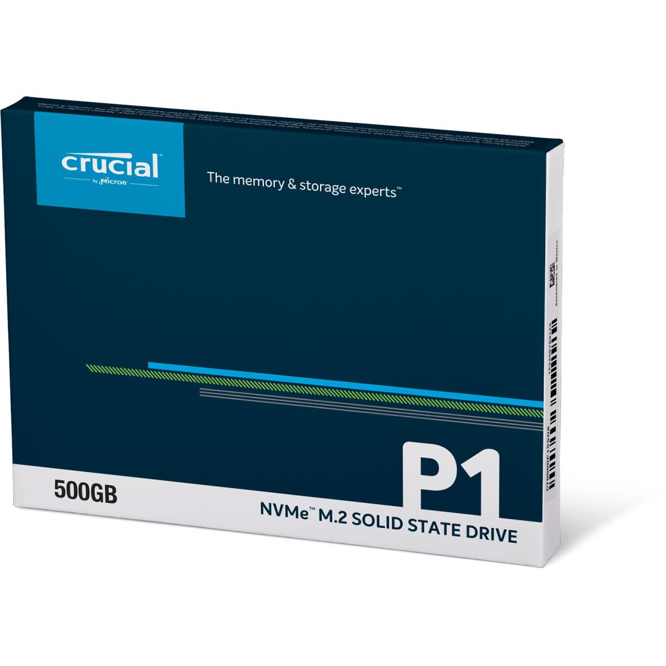 Crucial P1 480-525Go - Disque SSD Crucial - Cybertek.fr - 1