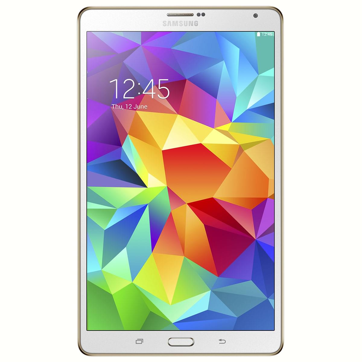 "Samsung Galaxy Tab S 8"" T700NZW - Tablette tactile Samsung - 0"