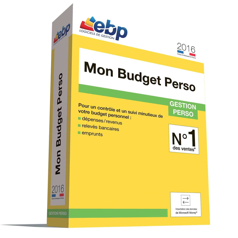 EBP Mon Budget Perso 2016 (1081E160FAA) - Achat / Vente Logiciel Application sur Cybertek.fr - 0