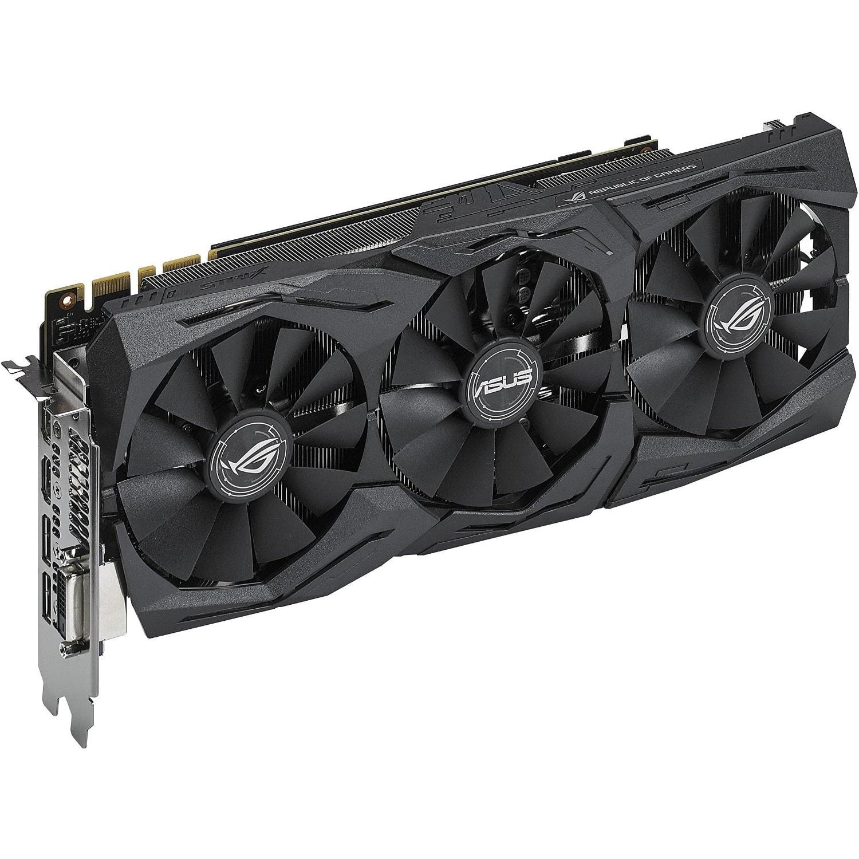 Asus GeForce STRIX-GTX1070-O8G-GAMING  (90YV09N0M0NA00) - Achat / Vente Carte Graphique sur Cybertek.fr - 2