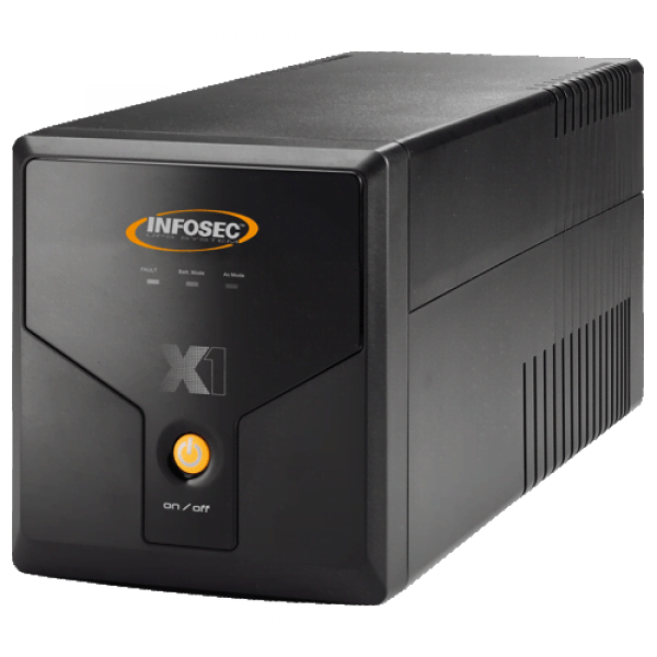 X1 EX-1250 - In-Line - Onduleur Infosec - Cybertek.fr - 0