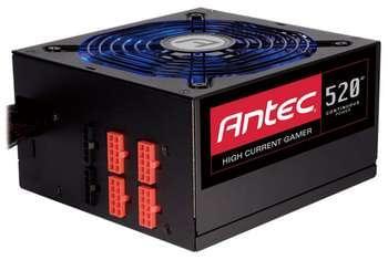 Antec ATX 520 Watts HCG-520 80+ Bronze (0761345-06204-6) - Achat / Vente Alimentation sur Cybertek.fr - 0