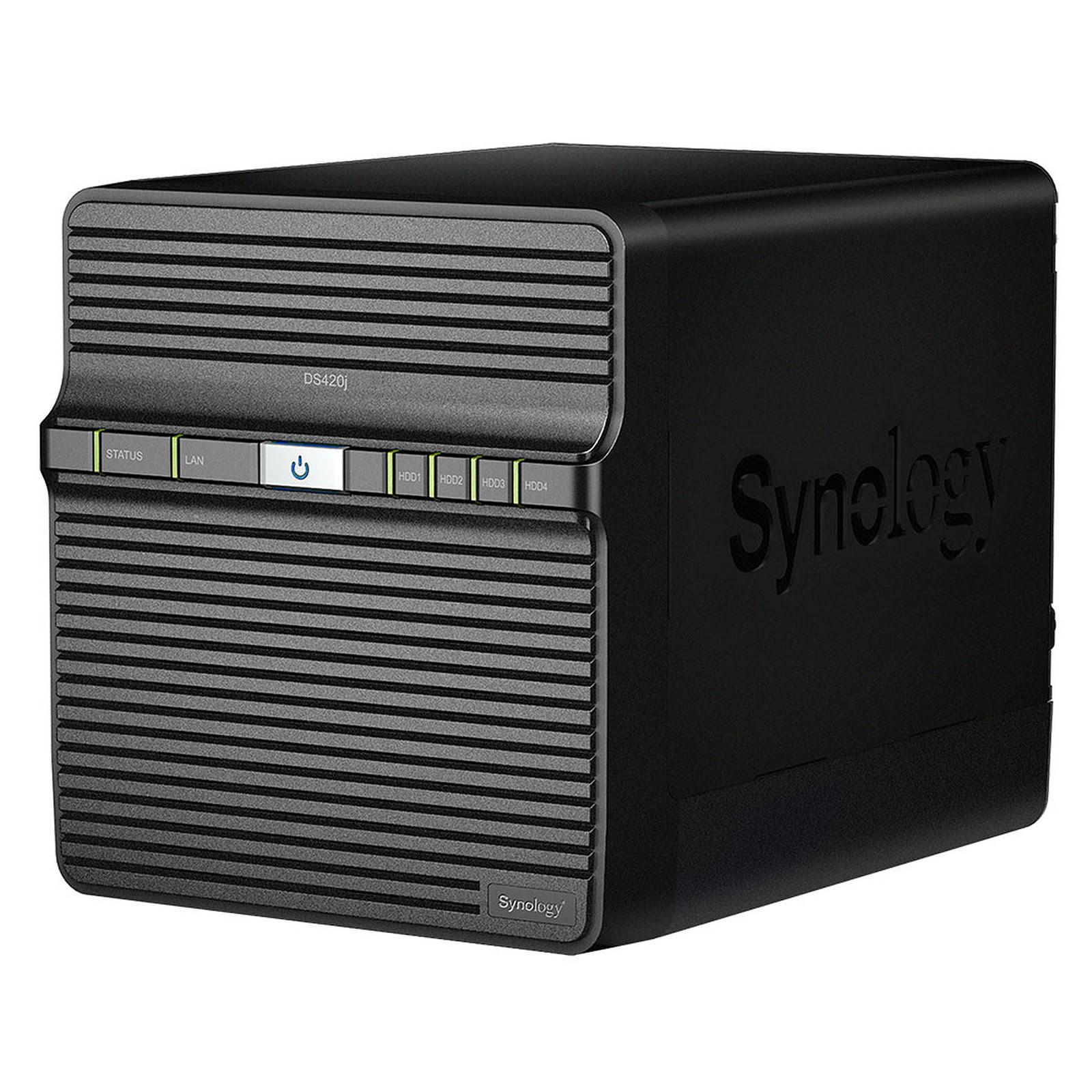 Synology DS420J - 4 HDD - Serveur NAS Synology - Cybertek.fr - 3