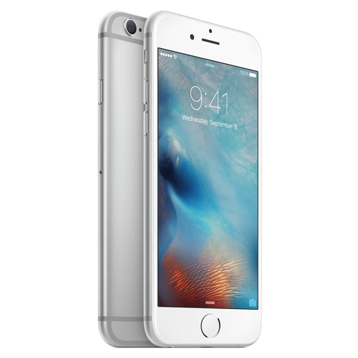 Apple iPhone 6s 16Go Argent  (MKQK2ZD/A) - Achat / Vente Téléphonie sur Cybertek.fr - 1