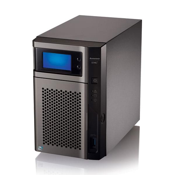 Lenovo EMC PX2-300D Network Storage PRO 70A3 4To - 2 HDD - Serveur NAS - 0