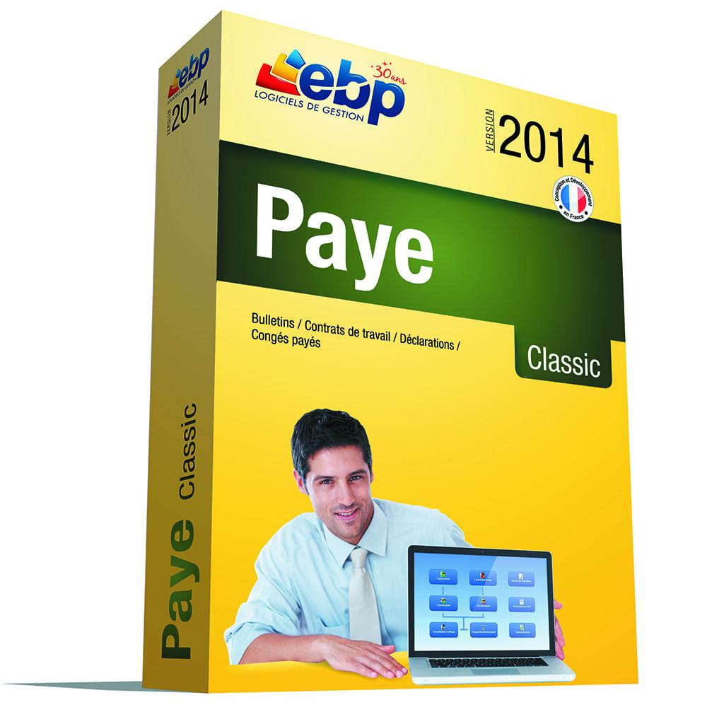 EBP Paye Classic OL 2014 (1025J060FAA) - Achat / Vente Logiciel application sur Cybertek.fr - 0