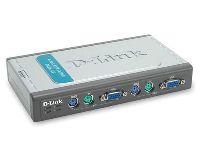 4UC-1 Ec&Cl&So - DKVM-4K - Commutateur D-Link - Cybertek.fr - 0