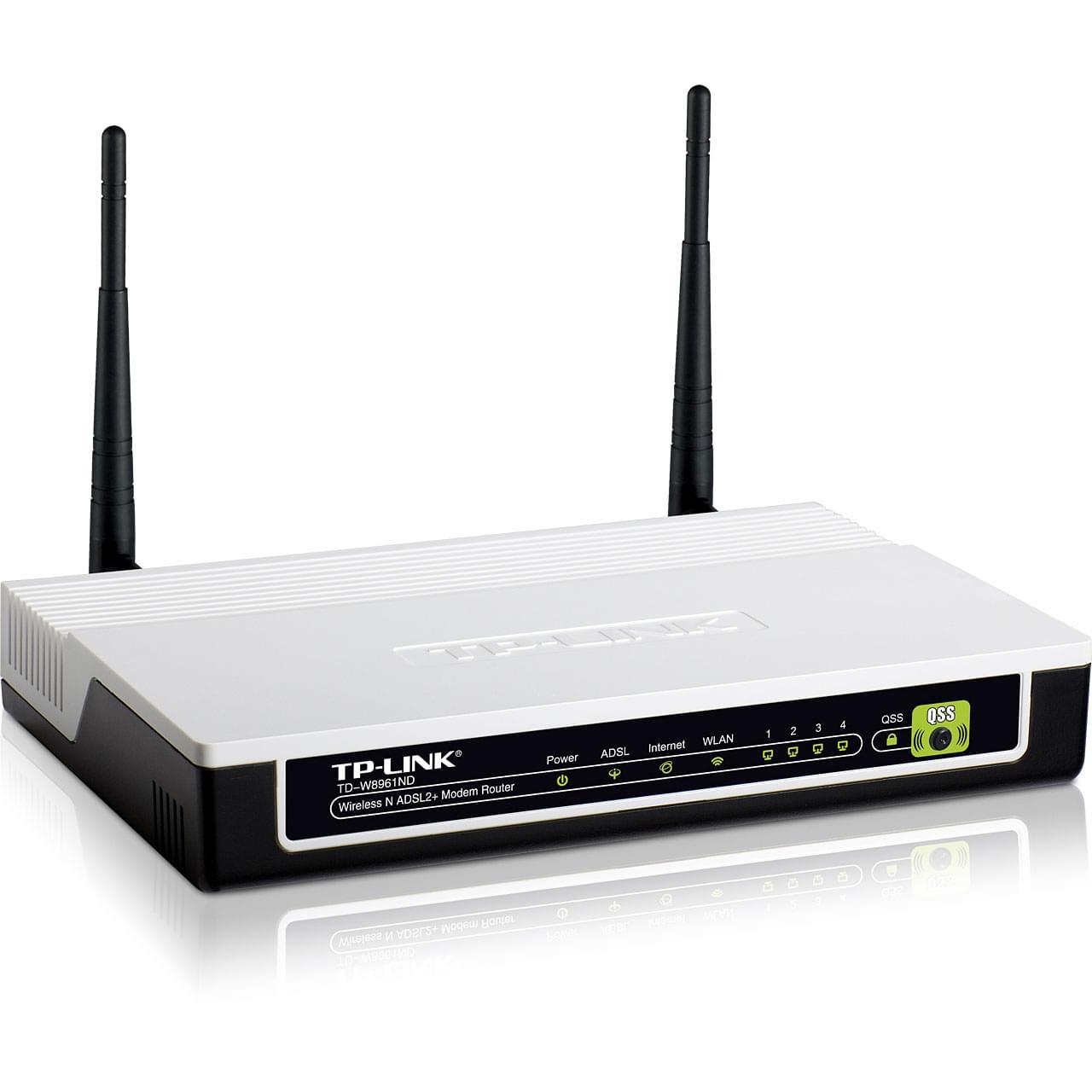 TP-Link TD-W8961ND (TD-W8961ND  /  318961) - Achat / Vente Routeur sur Cybertek.fr - 0