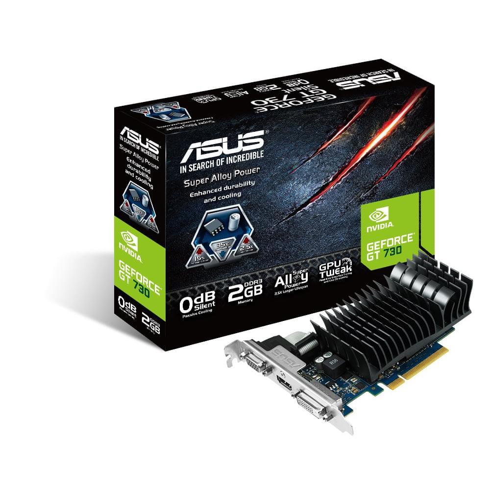 Asus GT730-SL-2GD3-BRK (90YV06P0-M0NA00) - Achat / Vente Carte Graphique sur Cybertek.fr - 0