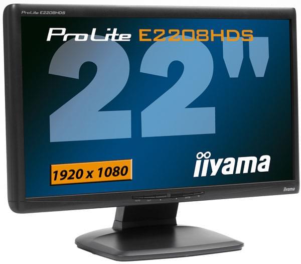 Iiyama PLE2208HDS-B2 (PLE2208HDS-B2  OBSO) - Achat / Vente Ecran PC sur Cybertek.fr - 0