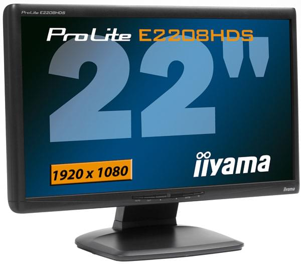 "Iiyama 22""  PLE2208HDS-B2  OBSO - Ecran PC Iiyama - Cybertek.fr - 0"
