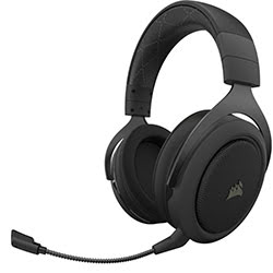 image produit Corsair HS70 PRO WIRELESS Carbon - CA-9011211-EU Cybertek