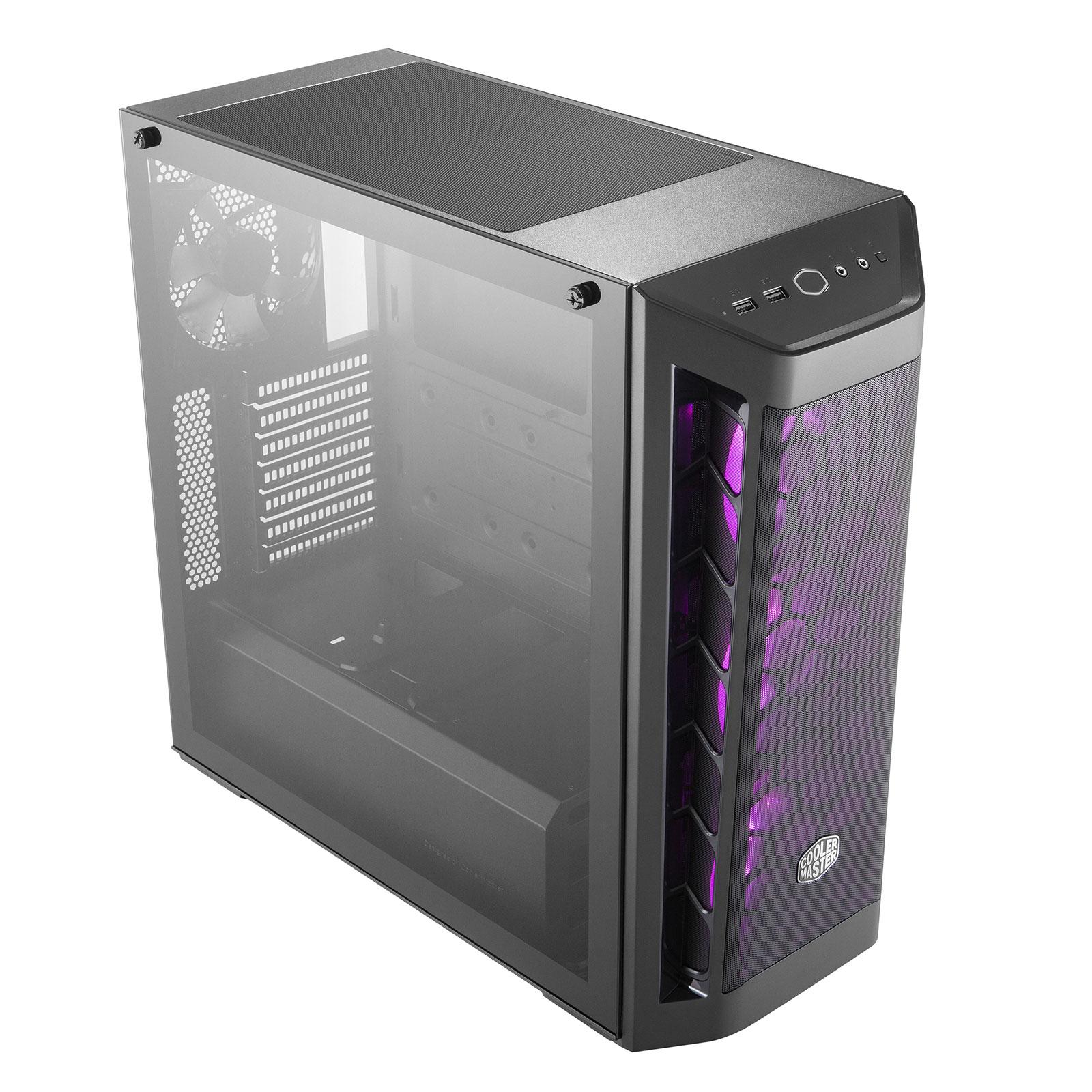 Cooler Master MasterBox MB511 RGB MCB-B511D-KGNN-RGB Noir - Boîtier PC - 3