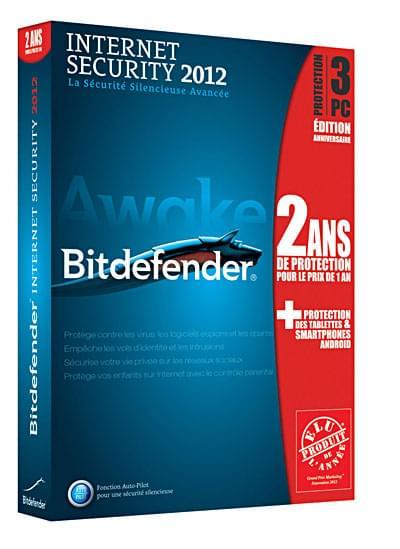 Bitdefender Internet Security 2012 ANNIV (B-FBDIS-2W2P003) - Achat / Vente Logiciel sécurité sur Cybertek.fr - 0