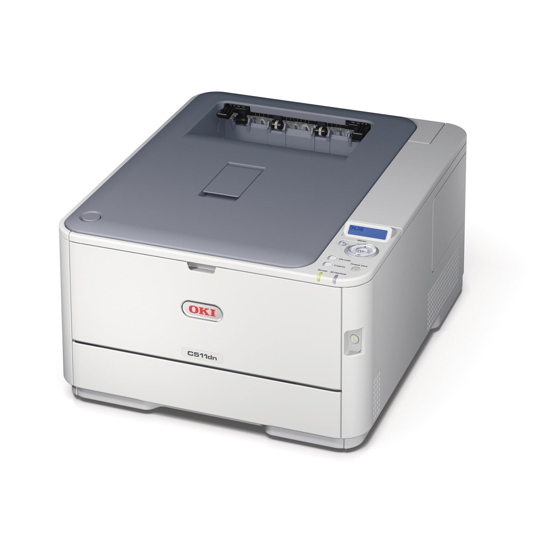 Oki C511dn (LED Couleur/RV/LAN) (44951604) - Achat / Vente Imprimante sur Cybertek.fr - 0