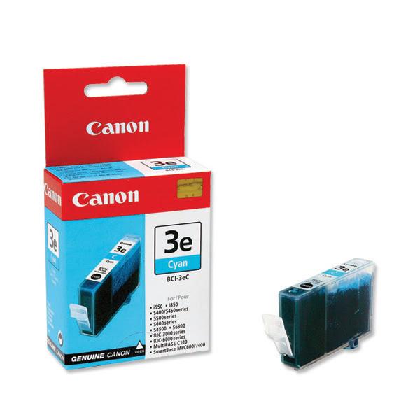 Cartouche BCI 3 E Cyan - 4480A002 pour imprimante Jet d'encre Canon - 0