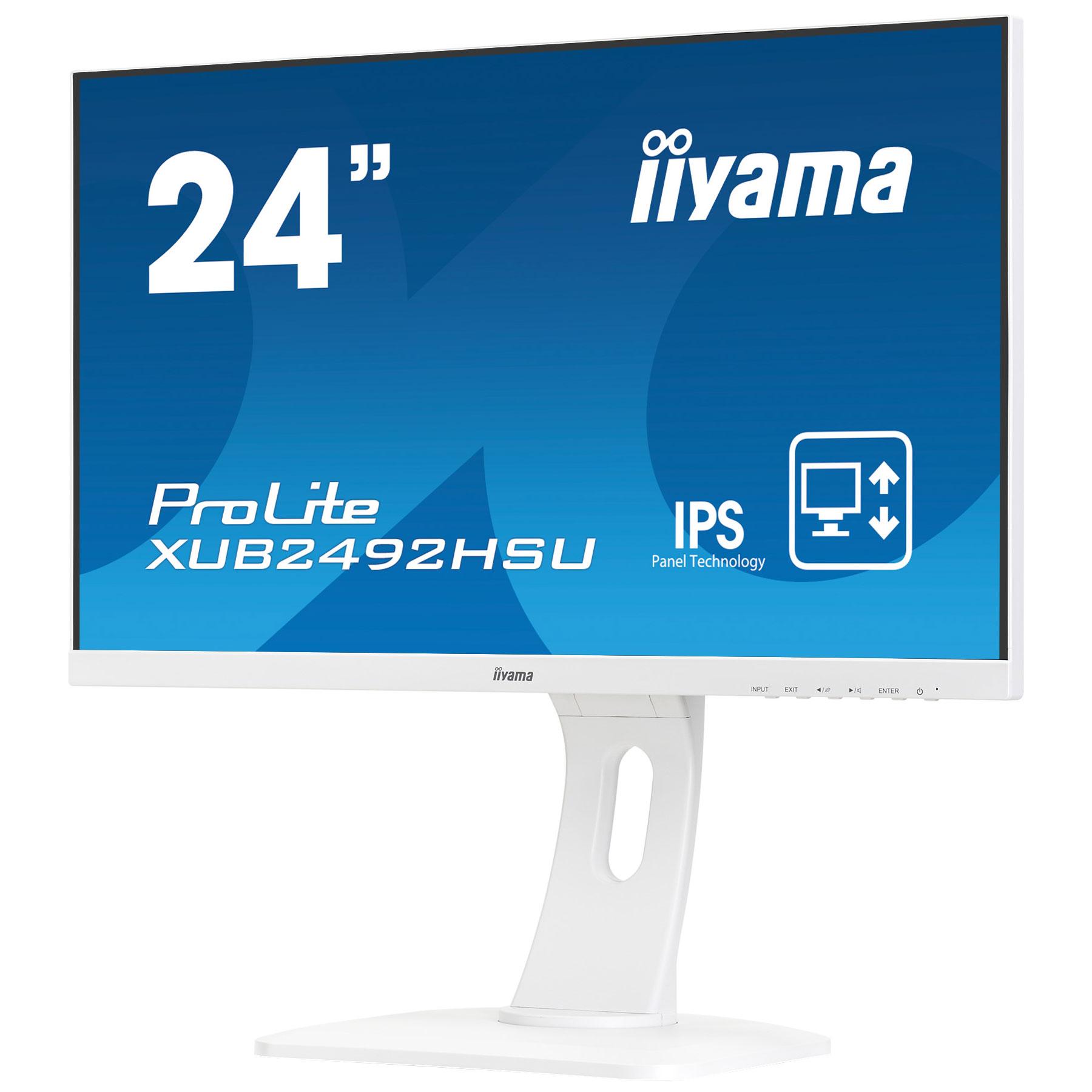 """Iiyama 24""""  XUB2492HSU-W1 - Ecran PC Iiyama - Cybertek.fr - 3"""