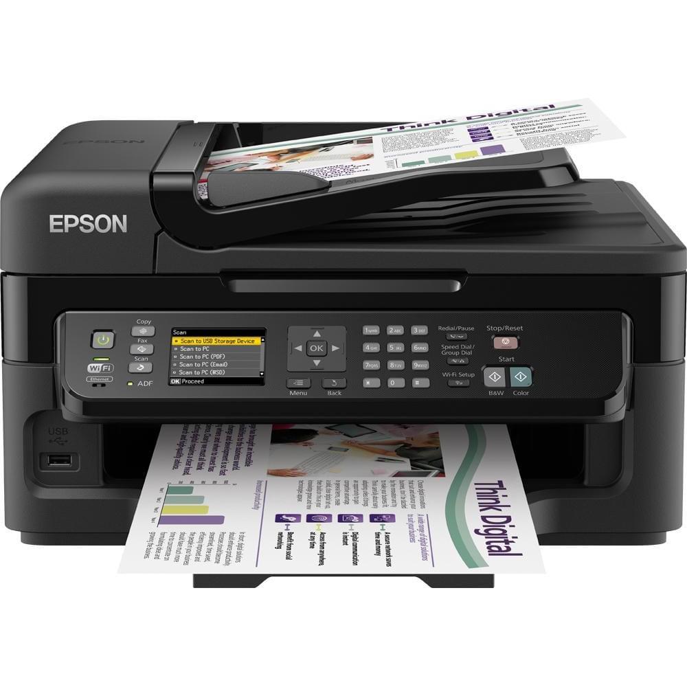 Epson WorkForce WF-2540WF (C11CC36302) - Achat / Vente Imprimante Multifonction sur Cybertek.fr - 0