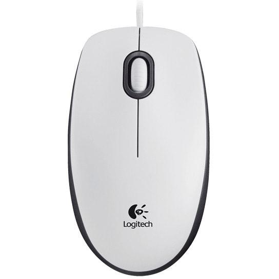 Logitech Mouse M100 Blanche - Souris PC Logitech - Cybertek.fr - 0
