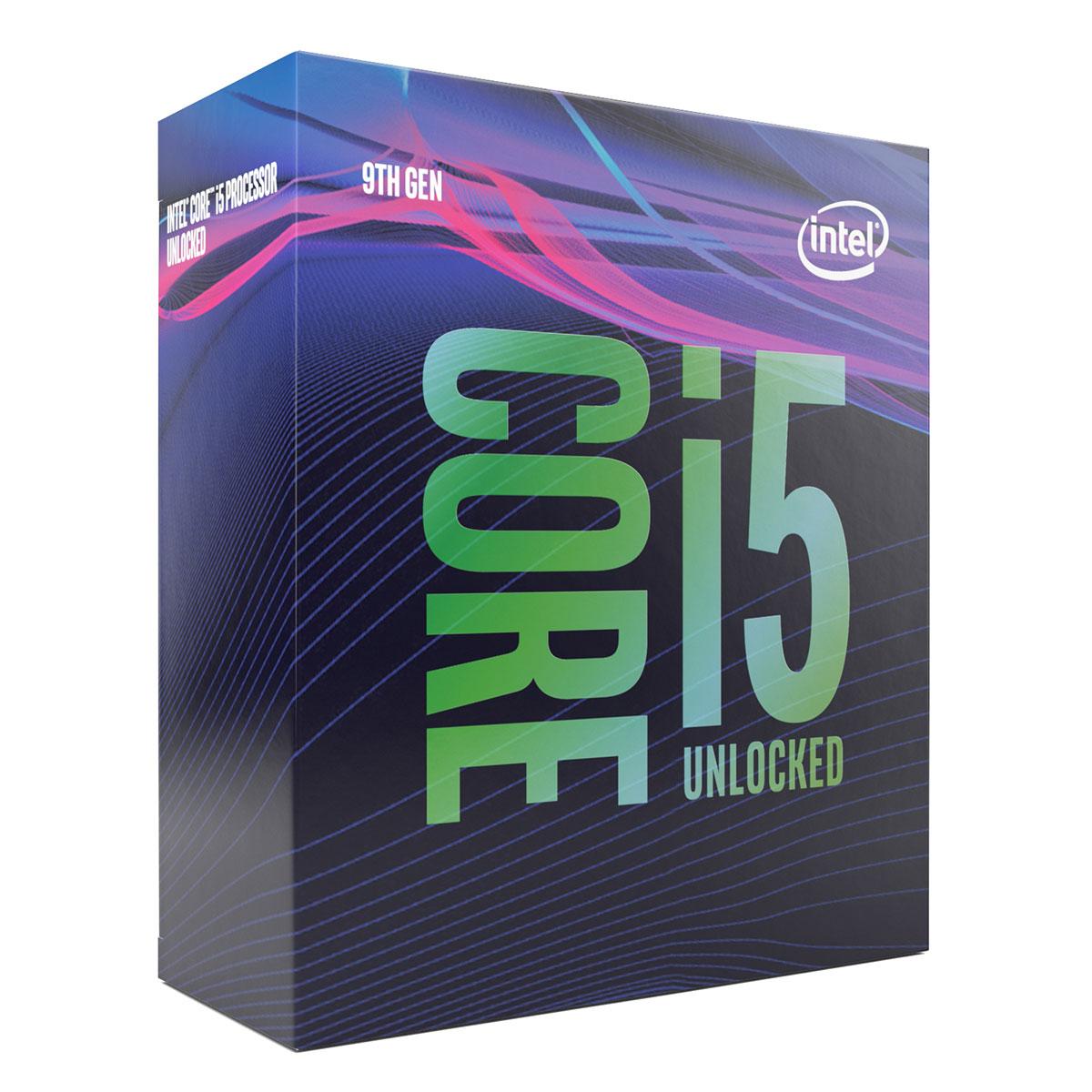 Intel Core i5-9600K - 3.7GHz - Processeur Intel - Cybertek.fr - 0