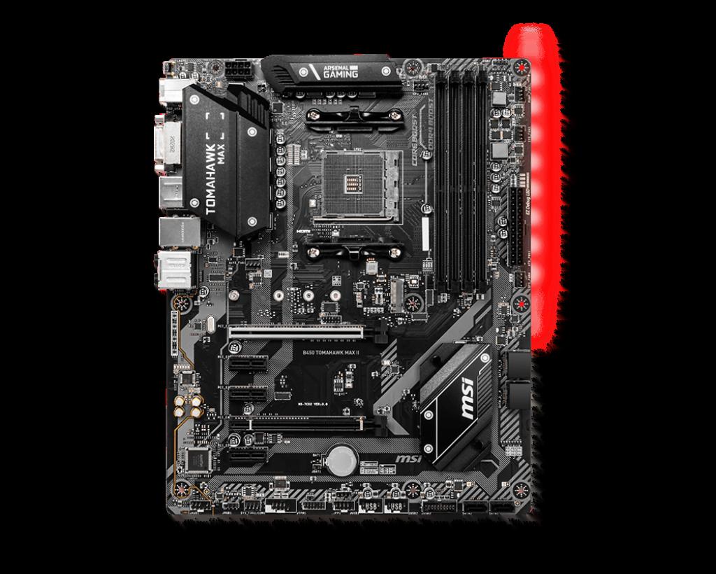 MSI B450 TOMAHAWK MAX II ATX DDR4 - Carte mère MSI - Cybertek.fr - 4